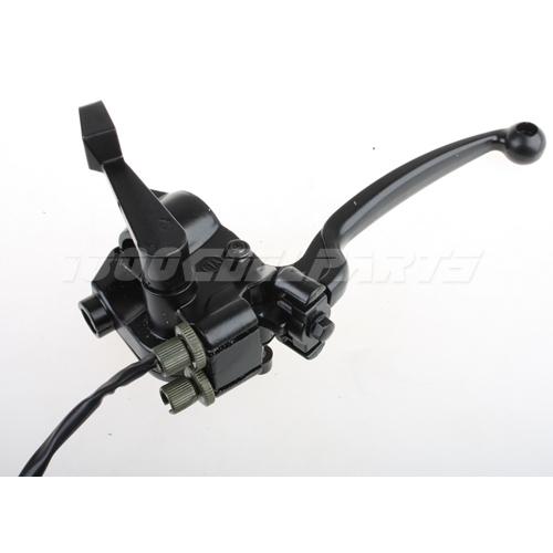 Atv Throttle Lever : Throttle brake lever handle atv quad cc
