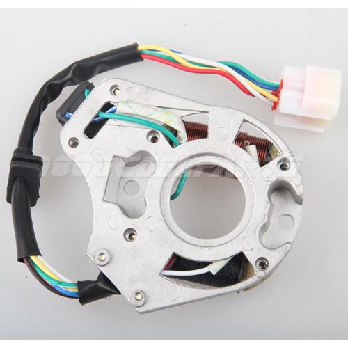 Wave Magneto Stator For 50cc125cc Electrical Start Atv Dirt Bike