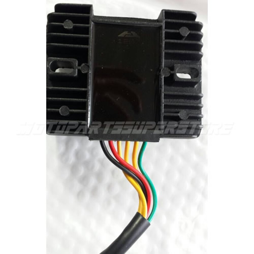 cf250cc voltage regulator rectifier 6 wire go kart moped scooter water cooled ebay