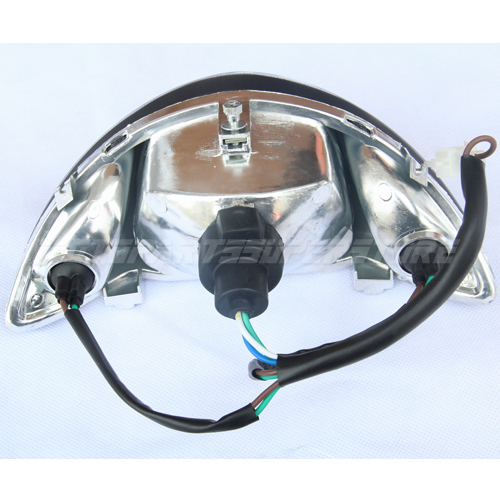 how to change moped headlight
