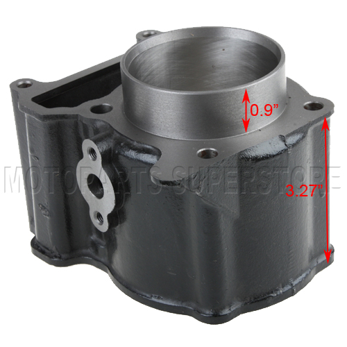 Cylinder barrel body for 250cc water cooled engine scooter for Yamaha water scooter