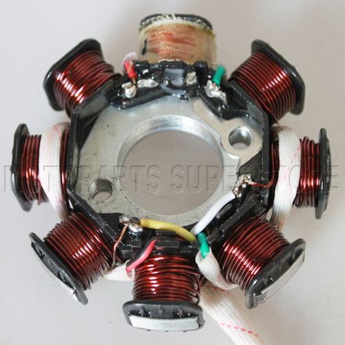 Four Wheeler Coils : Coil magneto stator gy cc atv moped go