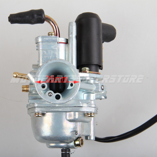 Moped Carburetor Parts : Carburetor for stroke cc scooter moped carb gy